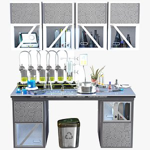 3D Lab Workplace Modern 4