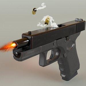 ready glock 19 3D model