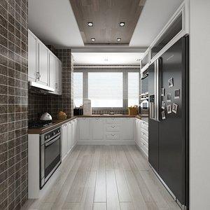 kitchen kitchenware 3D model