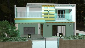 modern small home exterior model