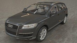 Audi Q7 simple 3D model 3D