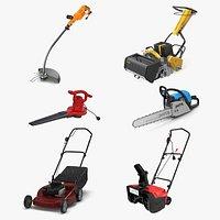 Garden Power Tools Collection 3