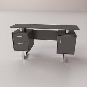 3D Modern Office Desk model