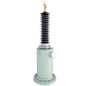 3D ceramic insulator voltage