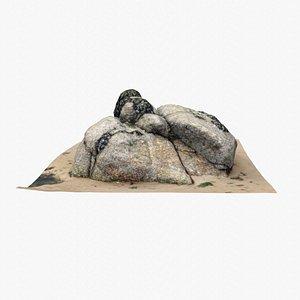 Rock 3D Scan 24 3D