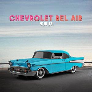 3D Chevrolet Bel Air car 3d model model