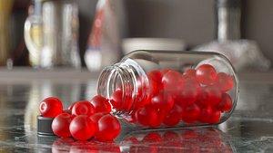 Supplement gummies bottle - apple cider gummies 2 model