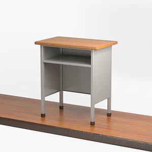 3D model school podium platform