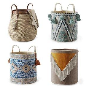 set baskets 3D
