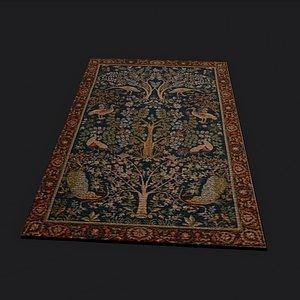medieval tapestry model