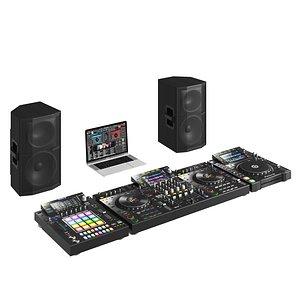 Pioneer DJ Music Set 3D model