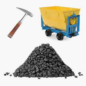 3D model Mining Equipment Collection