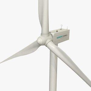 Siemens Gamesa Wind Turbine 3D model