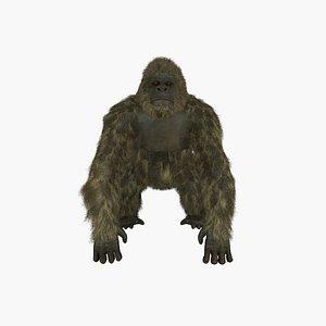 3D gorilla rig