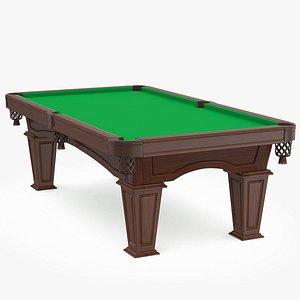 Billiard table v2 model