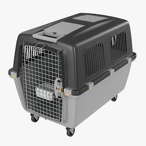 3D Travel pet carrier large