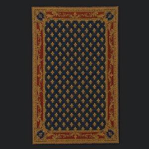 decor carpet rug 3D