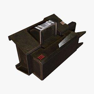 Block Control D 3D model