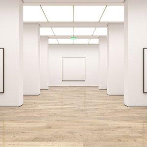 Art Gallery 009 3D model