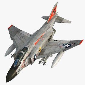 F4 J NAVY Phantom II Tomcatters VF-31 3D model