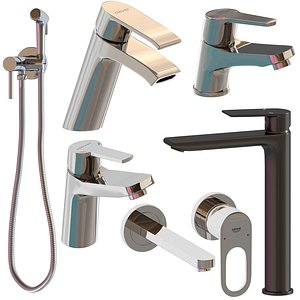 faucet clever grohe 3D