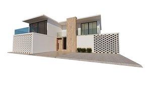 Modern House 01 3D