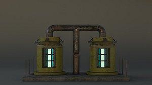 3D reactor model