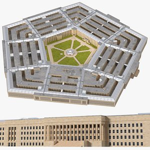 3D model The Pentagon Building