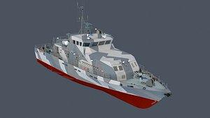 21980 grachonok ship 3D model