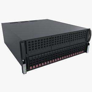 3D server 4u gpu