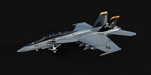 F-18F Super Hornet model