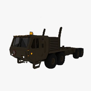 3D Hemtt Military Truck model