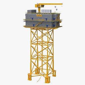 3D Offshore Wind Substation model
