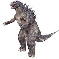 Godzilla Rigged Model