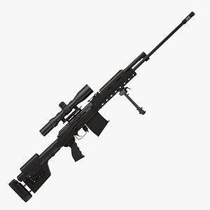 3D ak rifle