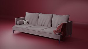 3D Couch simple