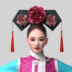 3D Princess of Qing Dynasty model