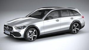 Mercedes-Benz C-Class All Terrain 2022 3D model