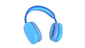 3D model headphones Apple AirPods MAX 3D