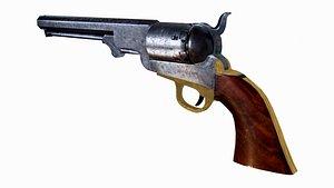 3d colt revolving pistol navy