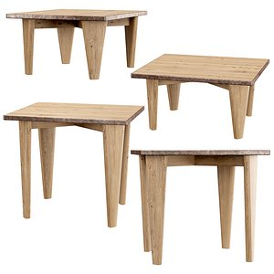 3D tables coffee model