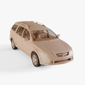 3D 2005 Holden Adventra