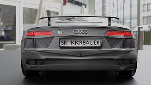 Audi R8 2016 model