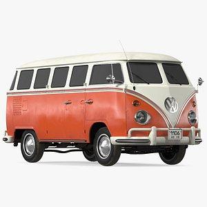3D Volkswagen Type 2 Exterior Only