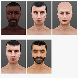 MAN 66 TO 70 3D model