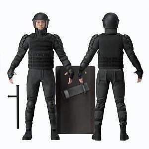 Military Uniform 3D