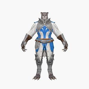 Werewolf V4 3D model