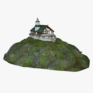 buildings hobbit 3D