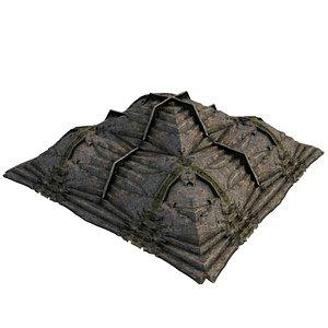 3D Pyramid Temple 01 01