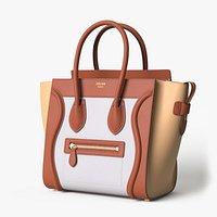 Celine Luggage Handbag Colored